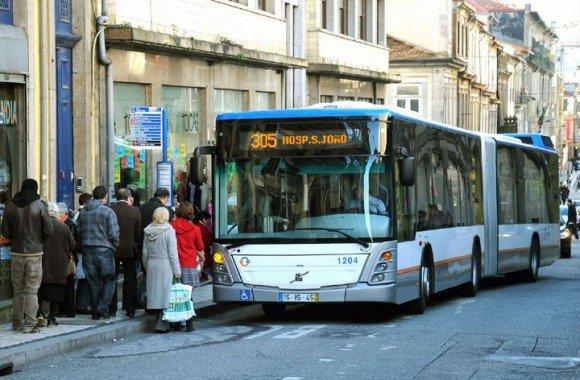 Bus travel in Porto