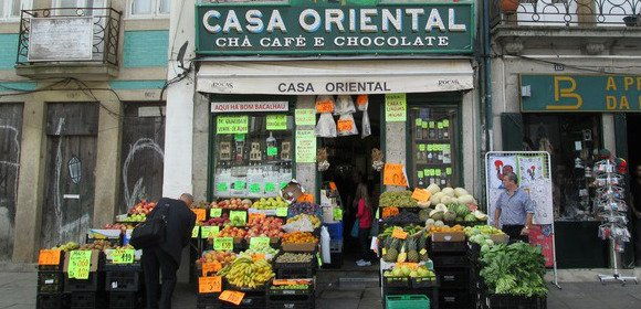 Traditional Grocery In Porto