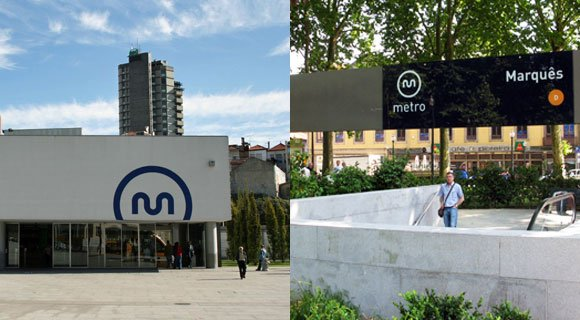 Porto Metro station signs Metro Travelling By Metro in Porto metro porto signs